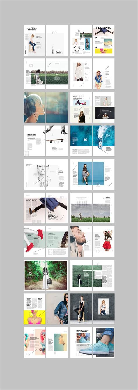 simple graphic design layout 25 best ideas about lookbook design on pinterest