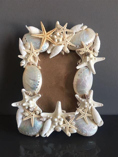 cornice con conchiglie cornice di conchiglie per la casa e per te decorare