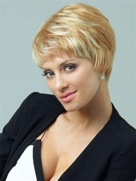 16 never ending beautiful short haircuts for women wigs for round faces over 60 short hairstyle 2013