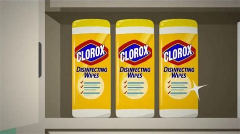 clorox disinfecting wipes tv commercial investigation discovery ispottv