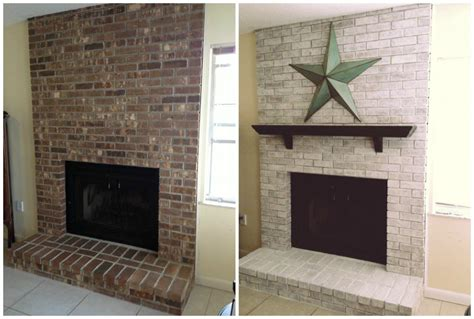 Before And After Fireplaces by Whitewash Fireplace Before And After Studio Design