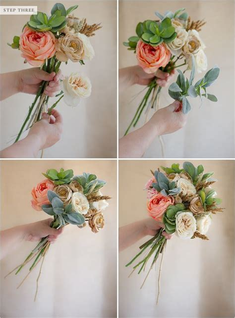 how to make floral arrangements step by step 25 best ideas about fake wedding flowers on pinterest