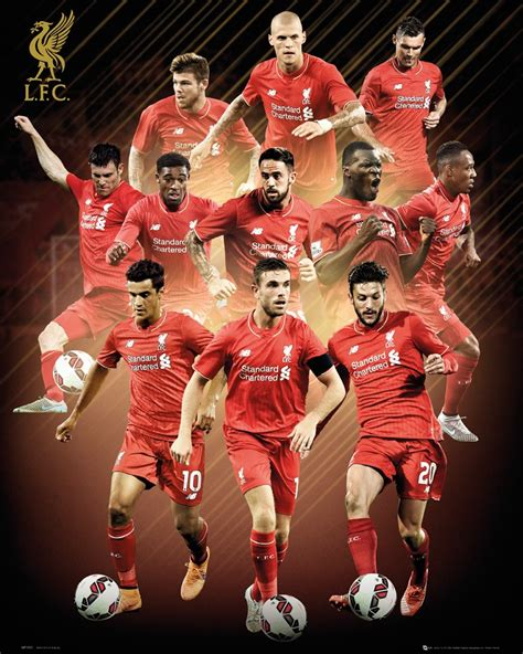official liverpool 2016 a3 official liverpool 2015 2016 football club players picture frame