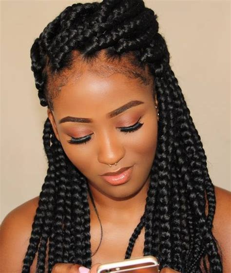 Box Braid Hairstyles Pictures by 50 Exquisite Box Braids Hairstyles To Do Yourself