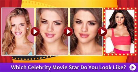 which celeb do i look like quiz which celebrity movie star do you look like vonvon