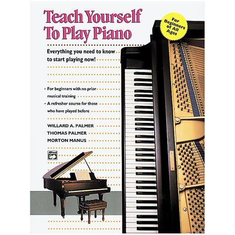 you at piano books teach yourself to play piano book