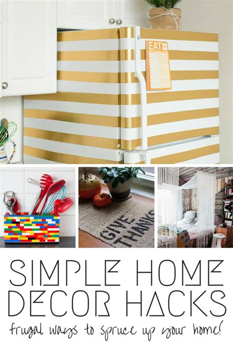 home decor hacks 9 simple home decor hacks mom spark a trendy blog for