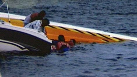 speed boat wipeout father and son recovering after speedboat wipes out ctv