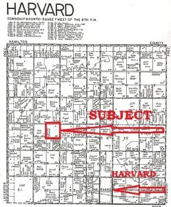 clay county section 8 clay co 160 acre land auction ruhter auction realty