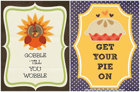 free thanksgiving craft ideas for free thanksgiving printables craft glued to my crafts