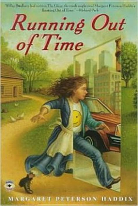 running in the books running out of time by margaret peterson haddix
