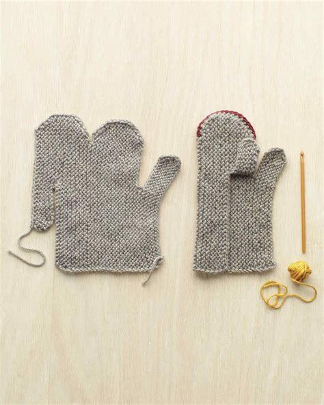 Martha Stewart Handmade Gifts - cozy mittens martha stewart