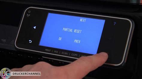 resetting hp officejet pro 8600 plus reset und verstecktes service men 252 beim hp officejet pro