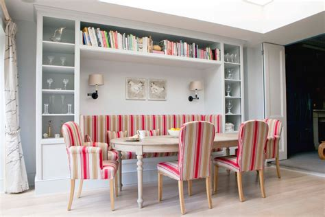 built in bench seat kitchen table dining room sets with bench seating with scandinavian