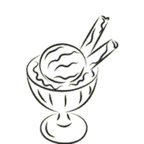 ice cream dish coloring page dish of ice cream 187 coloring pages 187 surfnetkids