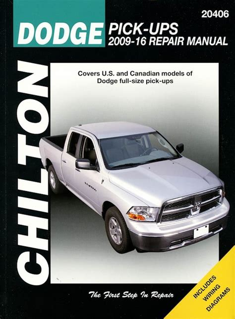 dodge ram repair manual 2009 2016 chilton diy service manual