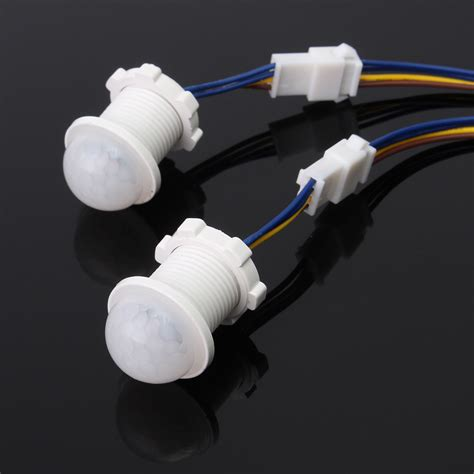 motion sensor for led lights 2pcs 25mm pir infrared motion sensor led ceiling light