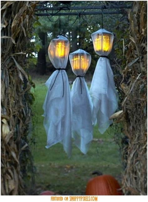 how to make scary halloween decorations at home homemade scary halloween decorations outside scary