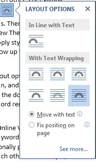 layout options in word 2013 how to use live layout in word 2013 tutorials tree