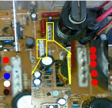 Mesin Tv China Advance cara memasang kabel defleksi mesin tv cina panassoder