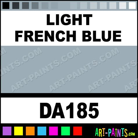 french blue paint light french blue decoart acrylic paints da185 light