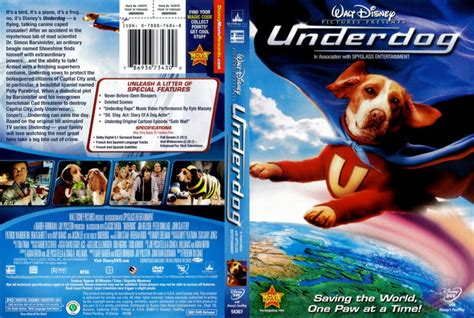 film underdogs full movie underdog movie dvd scanned covers underdog dvd covers