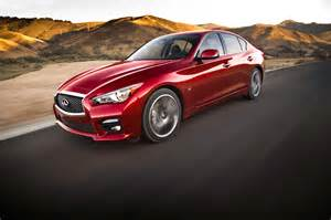 Infiniti Q50 S 2014 Infiniti Q50 S Front Side In Motion Photo 10