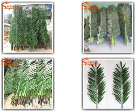 life size cheap artificial big trees landscape plastic outdoor large artificial decorative steel palm tree
