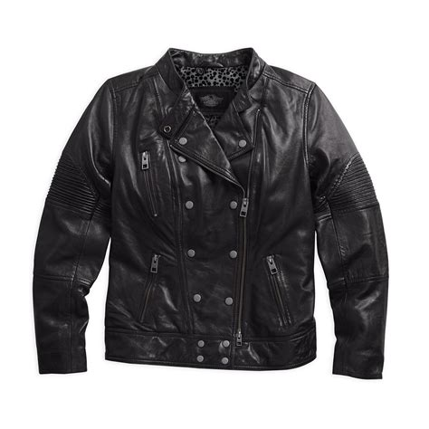 leather riding jackets for sale harley davidson womens waxed lambskin leather riding jacket