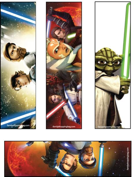 printable bookmarks star wars bookmarks 612961 png