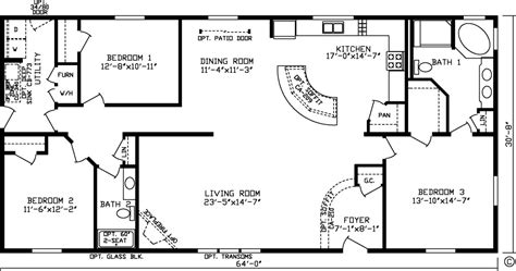 1800 Sq Ft Floor Plans by Floor Plans Northland Manufactured Home Sales Inc