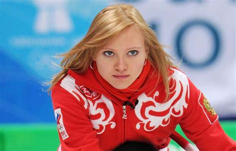 hot female olympic curlers photos the women of curling