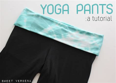 diy yoga pants pattern yoga pants a tutorial sweet verbena