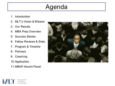 Mba Prep Programs Minorities by Mlt Mba Prep 2008 Presentation