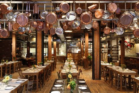 Industrial Kitchen Design by Giovanni Rana Pastificio Amp Cucina Restaurant In New York