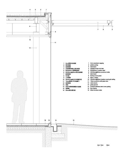 section detail drawing gallery of harvest pavilion vector architects 13