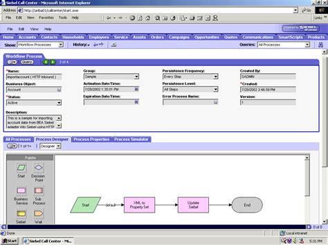 workflow administration a using siebel workflows