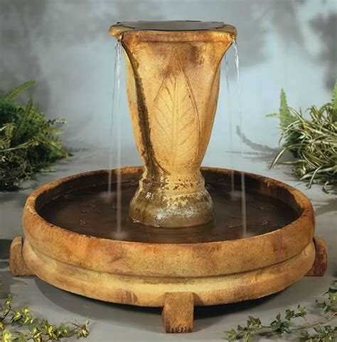 Vase Fountains by Overflowing Vase Water Urn Jug And Bowl Fountains