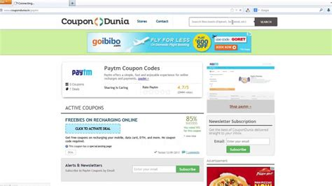 coupondunia paytm bus tickets offers