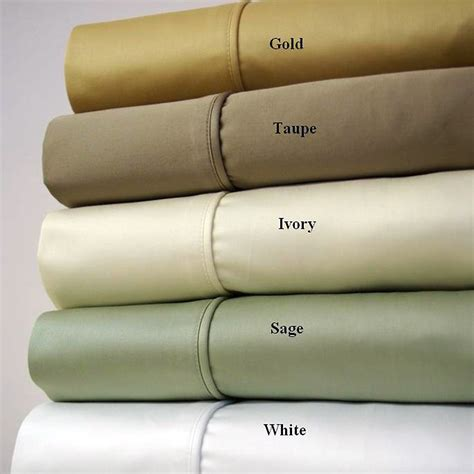 bed sheets material and thread count 1500 thread count solid cotton bed sheets set