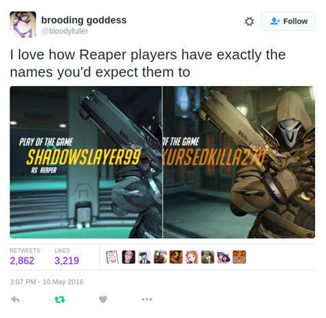 Reaper Memes - teenage angst intensifies overwatch know your meme