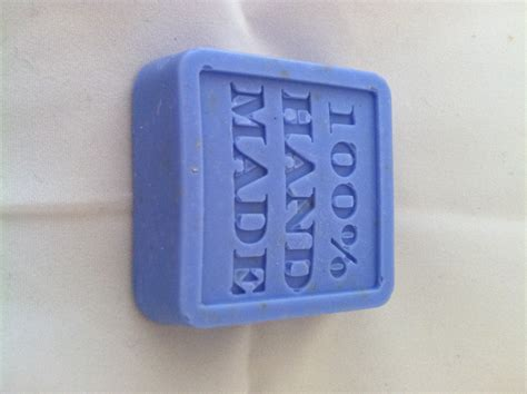 Handmade Bar Soap - blue oatmeal handmade soap bar