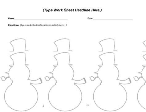 snowman book report template 5 best images of snowman printable book report template