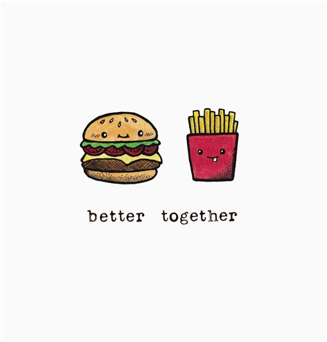 better together bacon pancakes office wallpaper