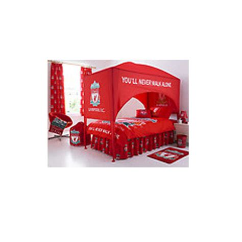 liverpool bedroom furniture liverpool fc united single bed canopy bedroom
