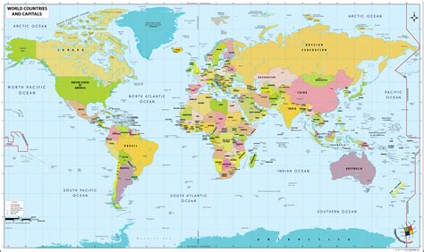 world map of cities and countries map of the world countries roundtripticket me