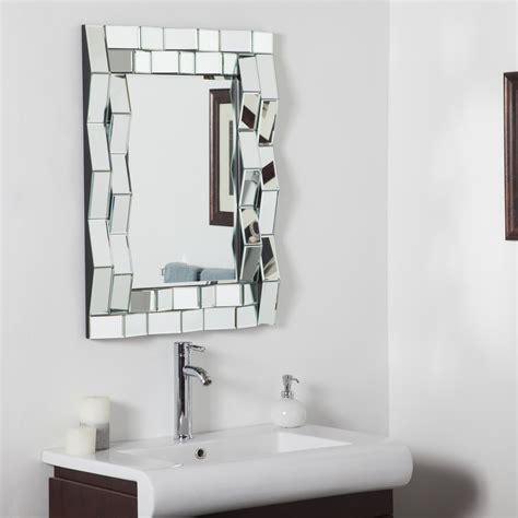 decor wonderland strands modern bathroom mirror beyond decor wonderland iso modern bathroom mirror beyond stores