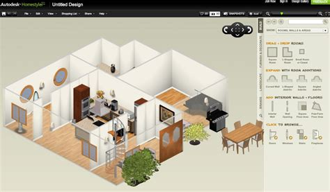 design a home online for free autodesk homestyler web app drafting cad forum