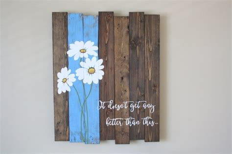 Handmade Artwork Ideas - 16 inspirational handmade pallet wood wall decor ideas to