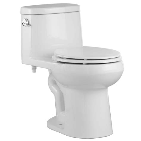Proflo Plumbing by Proflo Pf9441wh White One Elongated Toilet With Left